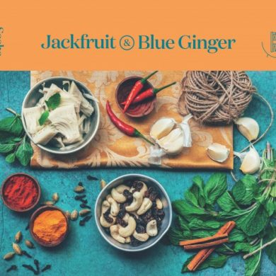 Jackfruit and Blue Ginger – a Vibrant Vegan Venture!