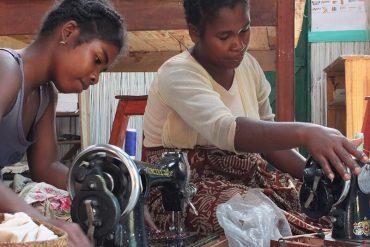 Stitching Masks for Madagascar