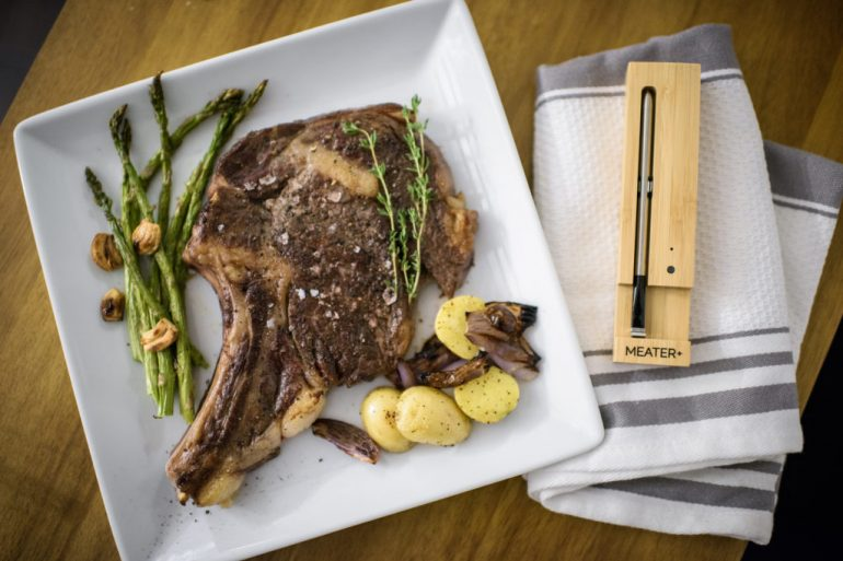 Meater + – The First Wireless Smart Meat Thermometer
