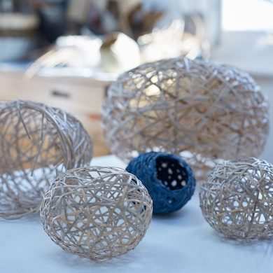 Make a Decorative Woven Basket from Yodomo