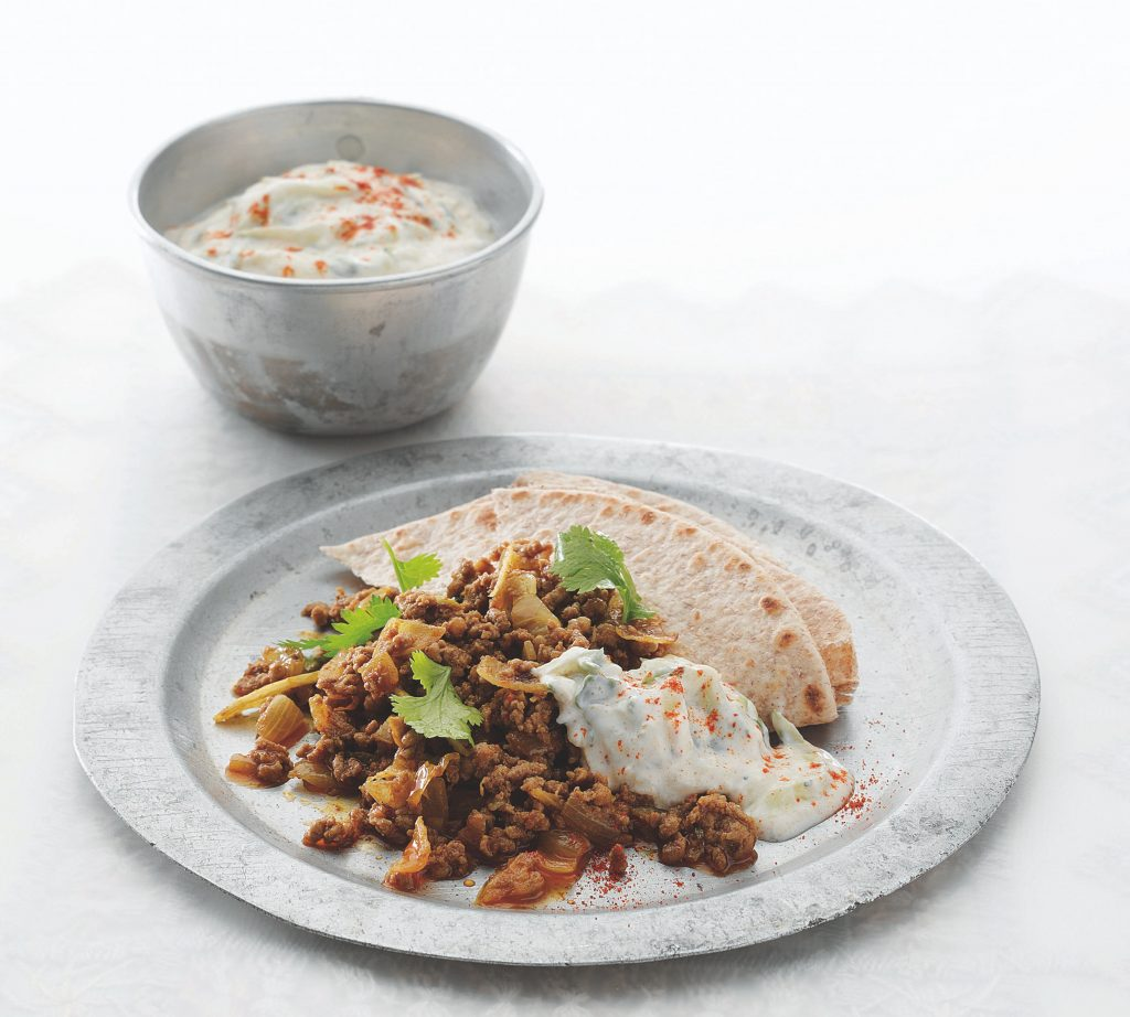 MINCED LAMB WITH CUMIN AND GINGER
