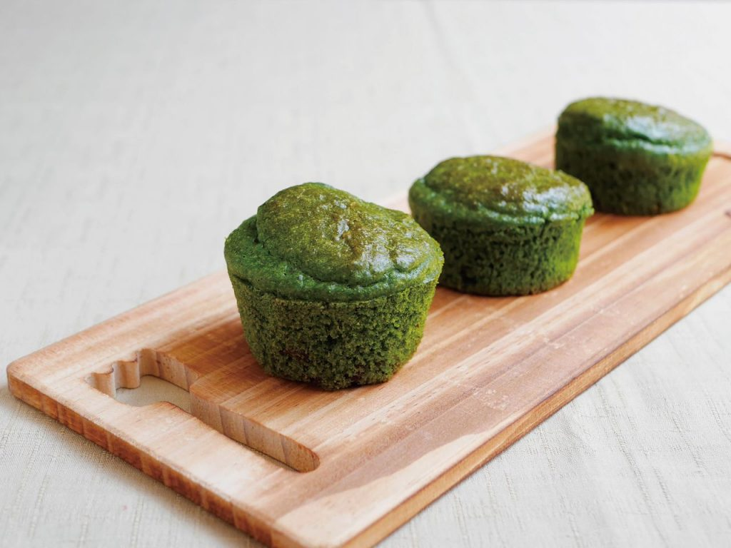 Chlorella Cup Cakes