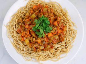 Vegetable Bolognaise