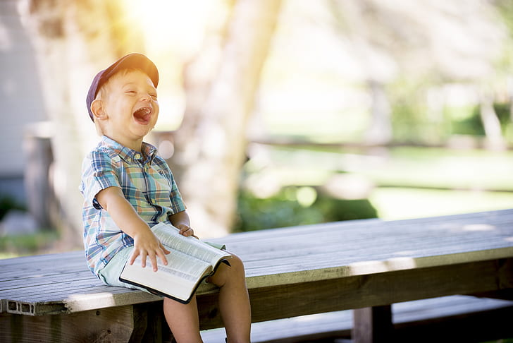 Laugh like you did as a child!