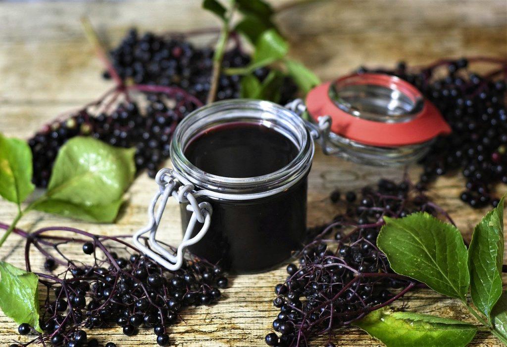 Elderberry is full of vitamin c