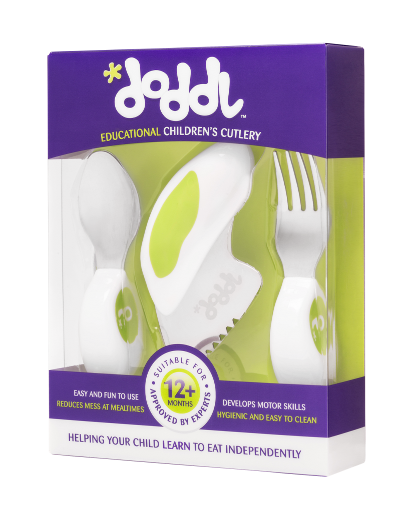 Doddl - Ergonomic Children's Cutlery