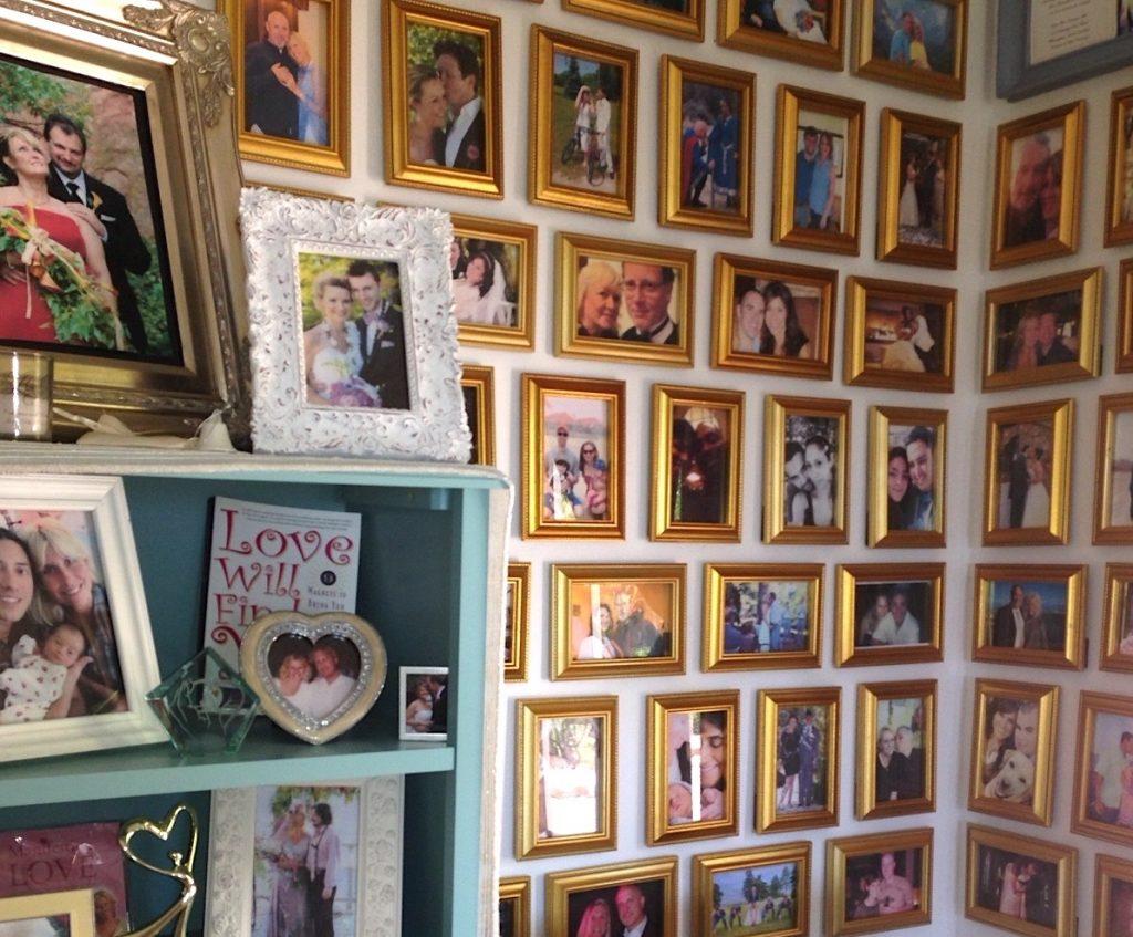 Kathryn's Wall Of Weddings