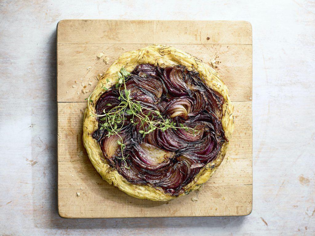 Red Onion Tarte Tatin