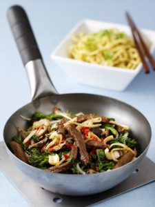 Chilli Beef And Mushroom Stir-Fry