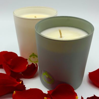 Vegan Green Bee Scented Candles
