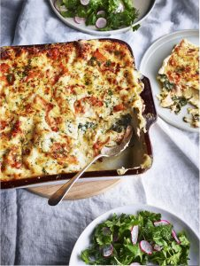 Smoked Salmon & Spinach Lasagne - Tom Kitchin (Serves 4)