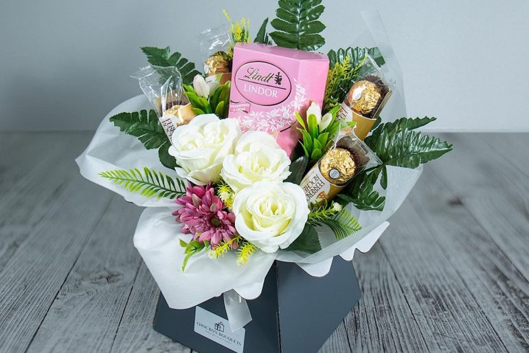 It's a wrap with Chocolate Bouquets