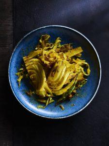 Cabbage & Fennel Sabzi