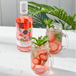 Strawberries & Cream Gin Liqueur
