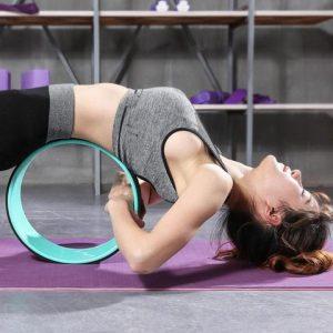 A Yoga Wheel Workout