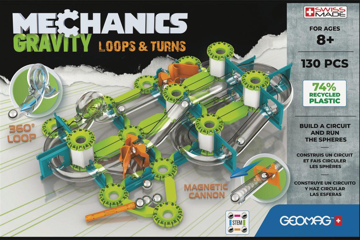 Mechanics Gravity Loops & Turns