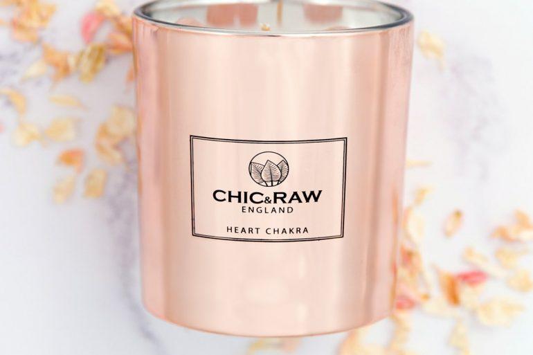 Chic & Raw Chakra Candles