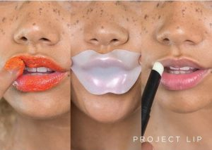 Caring for lips with Project lip