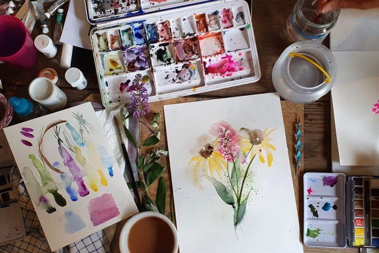 Awaken your Creativity with a Watercolour Class